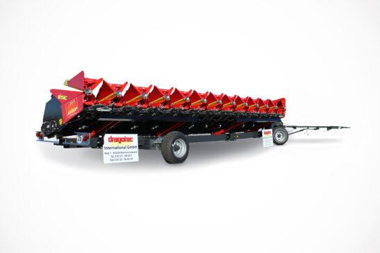 Schneidwerkswagen für Maispflücker und Sonnenblumenschneidwerke Dragotec
