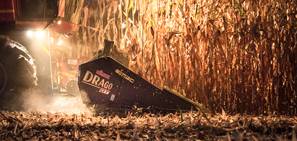 Olimac Drago GT Maispflücker Ertne nachts