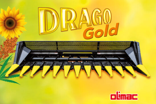 Olimac DRAGO Gold Sonnenblumenpflücker Brochürenbild
