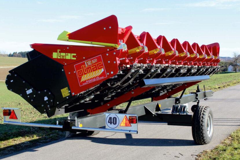 Schneidwerkswagen 1 Achsig für Olimac Erntevorsätze