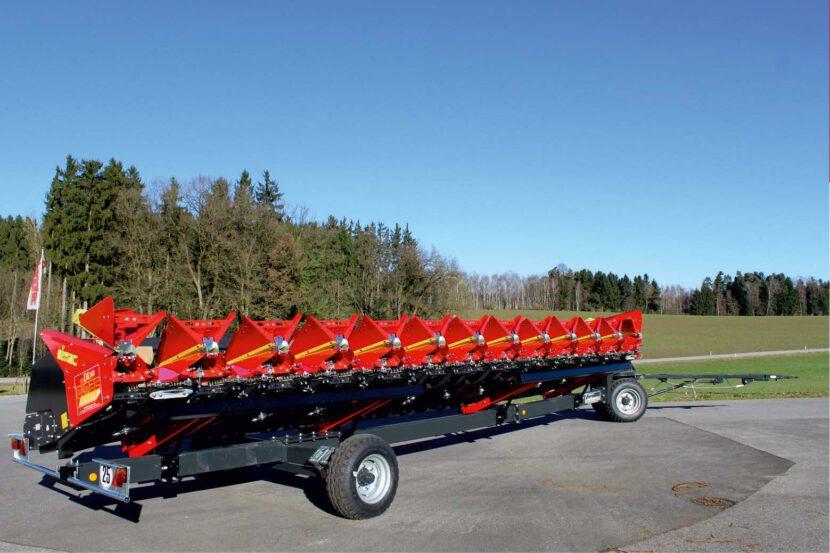 Schneidwerkswagen 2 Achsig für Olimac Erntevorsätze